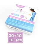 30 Ovulation Test Strips + 10 Pregnancy Test Strips