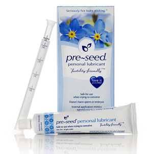 Pre-Seed Lubricant