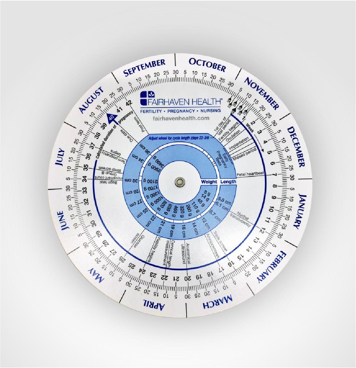 Pregnancy & Ovulation Wheel Calculator