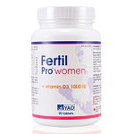 FERTIL-PRO For Women - Designed to Enhance Female Fertility Potential - 3 Month Supply