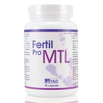 FERTIL-PRO MTL - Improve Sperm Motility - 3 Month Supply