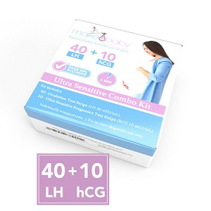 40 Ovulation Test Strips + 10 Pregnancy Test Strips